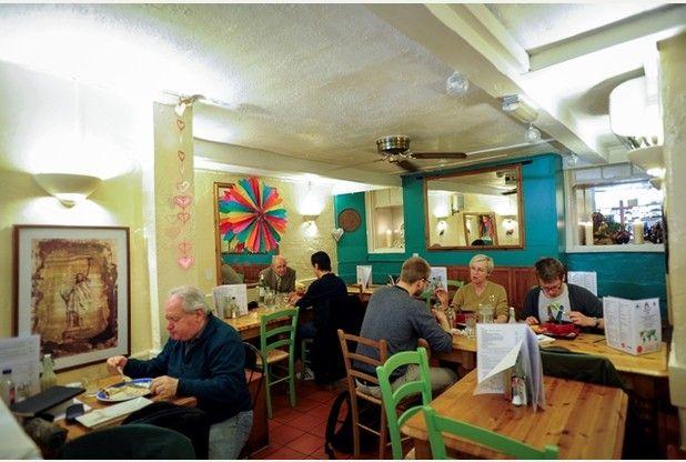 Vegan Restaurant Review Rainbow Cafe In Cambridge