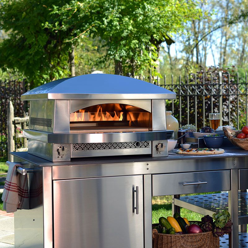 Outdoor Pizza Ovens The Backyard Pizza Oven Kalamazoo Outdoor Gourmet Pizza Oven Outdoor Luxury Outdoor Kitchen Outdoor Pizza