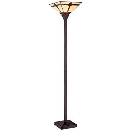 Lite Source Karysa Tiffany Style Torchiere Floor Lamp Torchiere Floor Lamp Tiffany Style Floor Lamp
