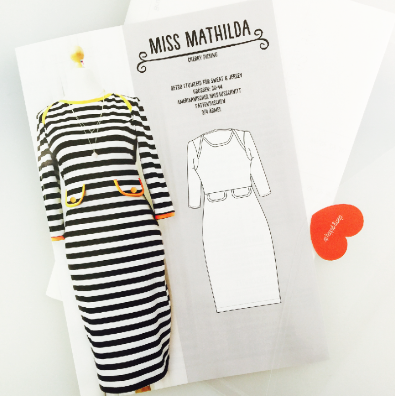 """Photo of Sewing pattern """"Miss Mathilda"""" Ebook retro shift dress for Sw …"""