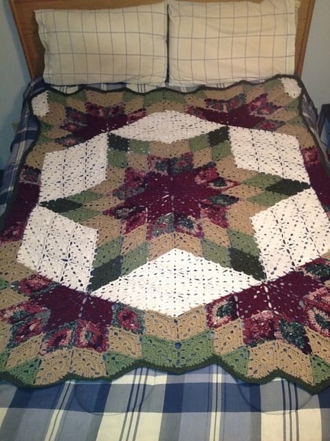 Ravelry: Project Gallery for Prairie Star pattern by Marilyn Coleman ...