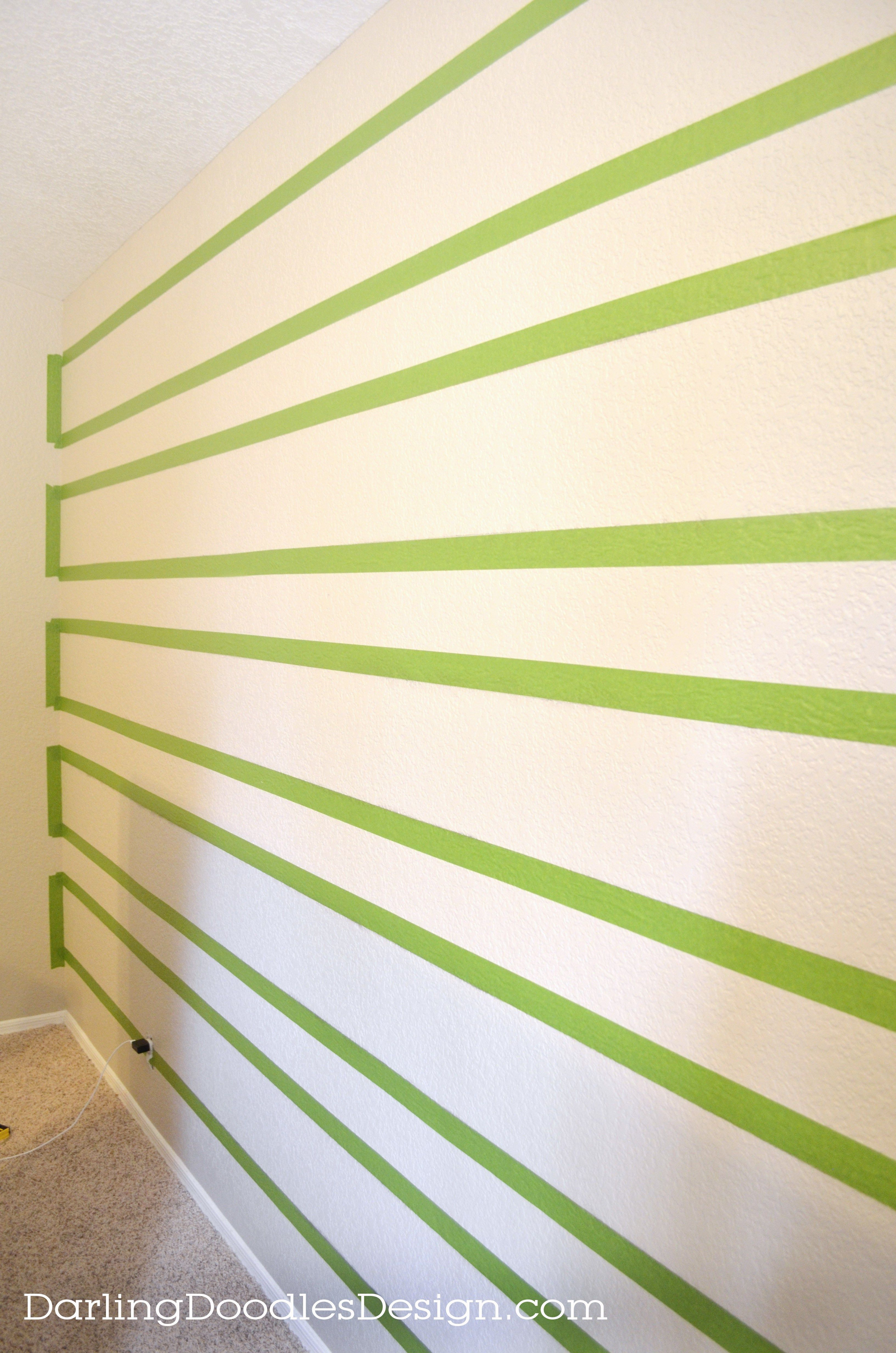 How To Paint Crisp, Clean Lines on Textured Walls | Decorating ideas ...