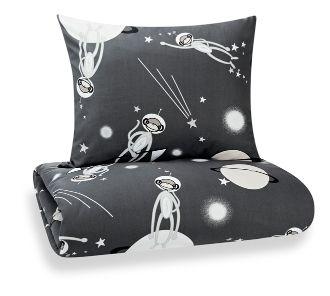 Avaruus-Aappa -lasten pussilakanasetti
