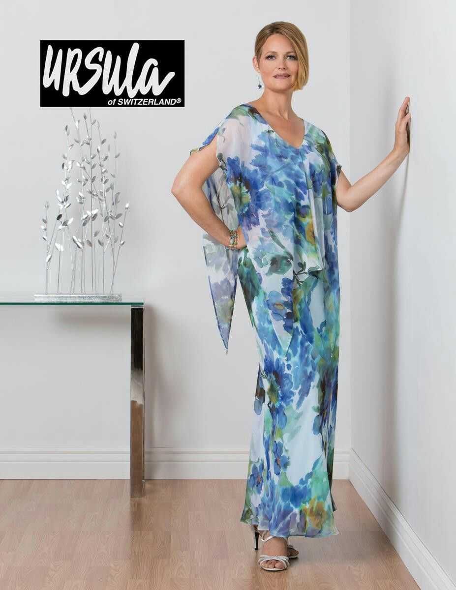 Ursula 31425 Floral Mother of the Bride Gown | Mother Of The Bride ...