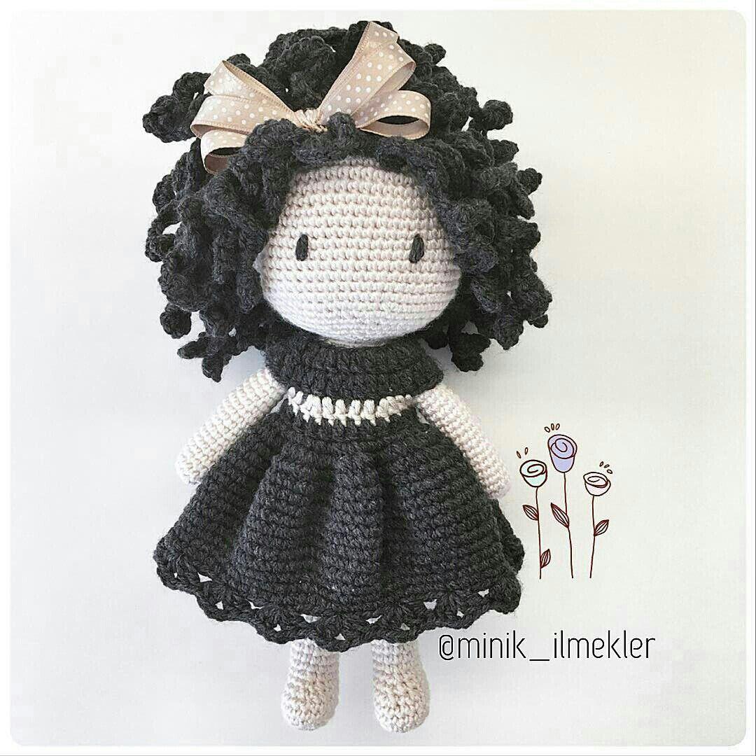 Pin by Frau Z on кукла | Pinterest | Amigurumi, Crochet dolls and Dolls