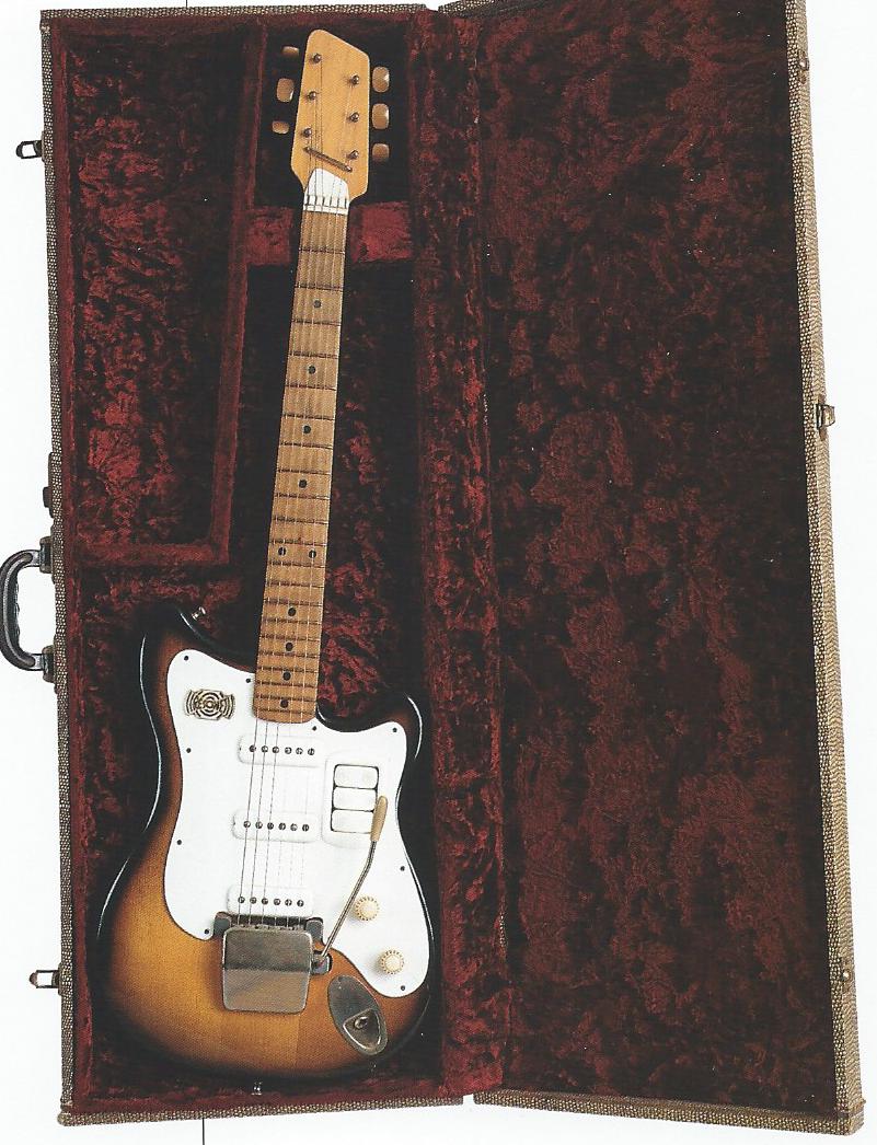 Resultado de imagen para guitarra Futurama 1959 George Harrison