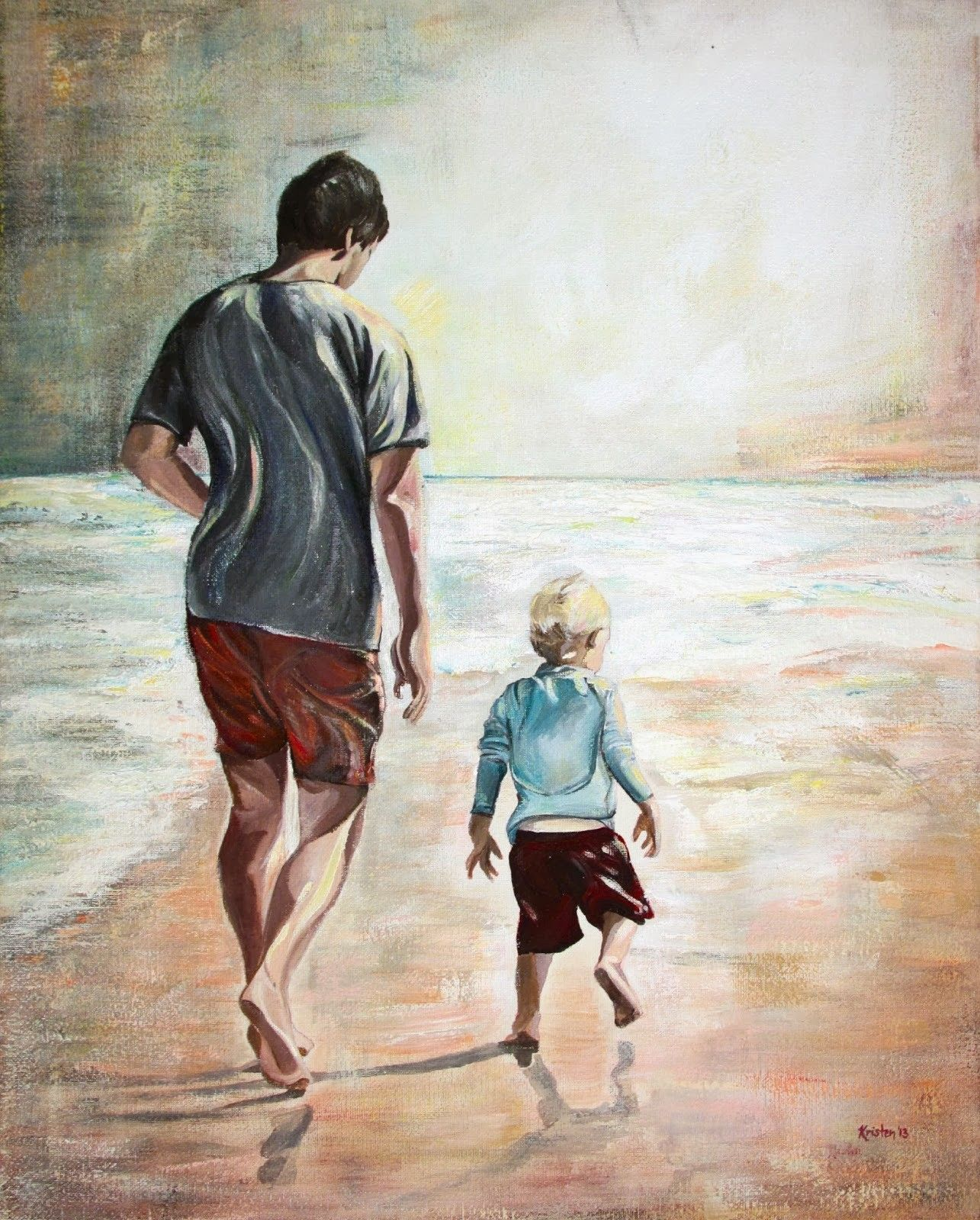 здесь картинки папа и сын рисунки роскошного