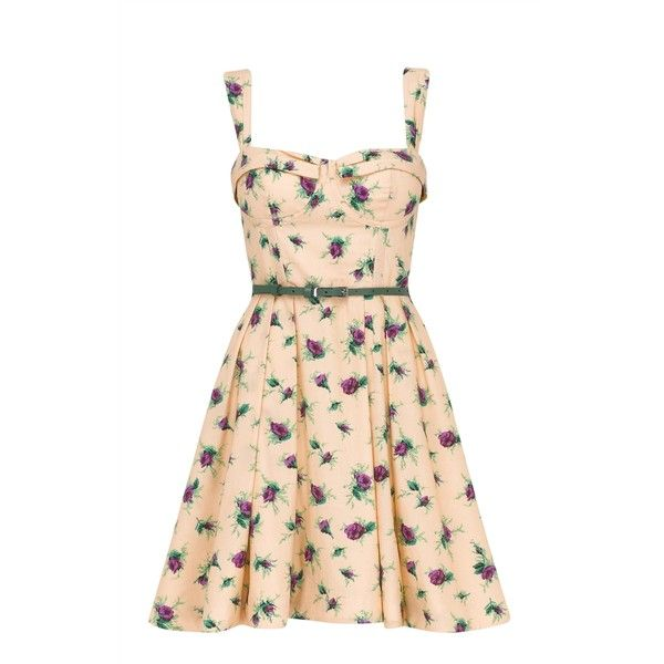 Cotton Couture Rose Sun Dress