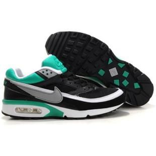 358797 071 Nike Air Classic BW SI Black White Green D01101