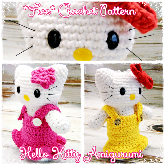 Ravelry: FREE Hello Kitty Amigurumi Pattern (Translated and Enriched ...