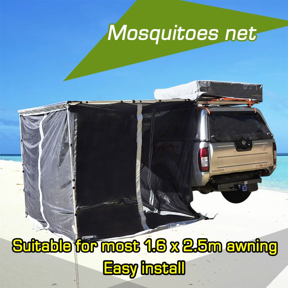 New Car Awning Mosquito Net Mesh Tent Shade Car Roof Top