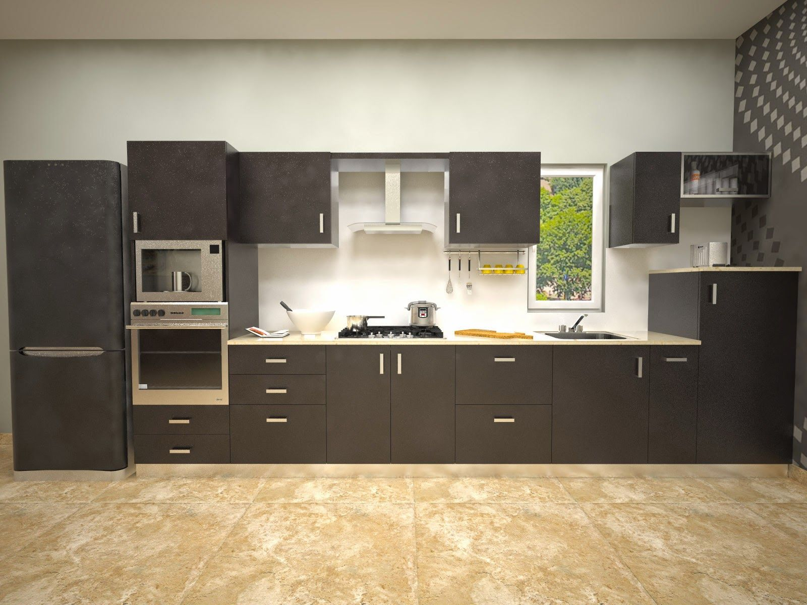 Straight Modular Kitchens Gallery Aamodakitchenideas In 2019