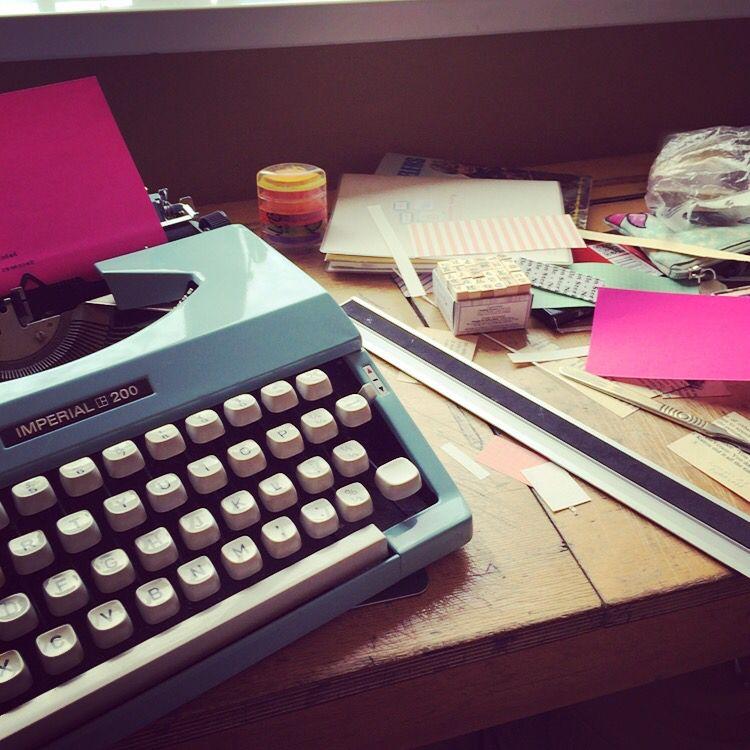 #studio #imperial #typewriter #retro