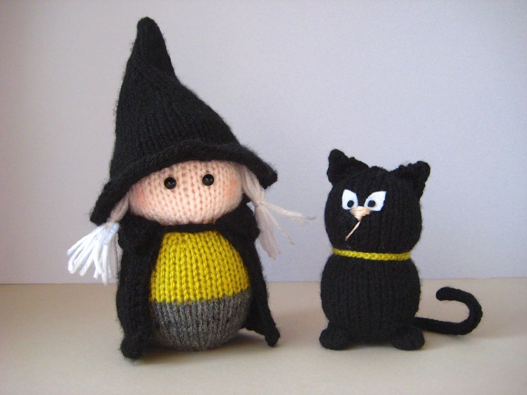 Wanda the Witch - KNITTING PATTERNS by AMANDA BERRY ...