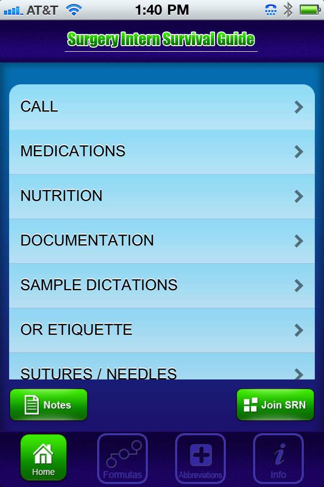 'Surgical Intern Survival Guide' App for Medical Students looks pretty helpful. #medicalstudents