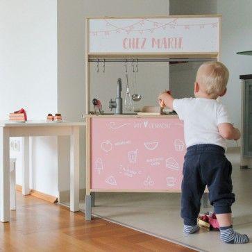 Klebefolie Restaurang Fur Ikea Kinderkuche Duktig Farbe Rosa Ikea Duktig Ikea Duktig