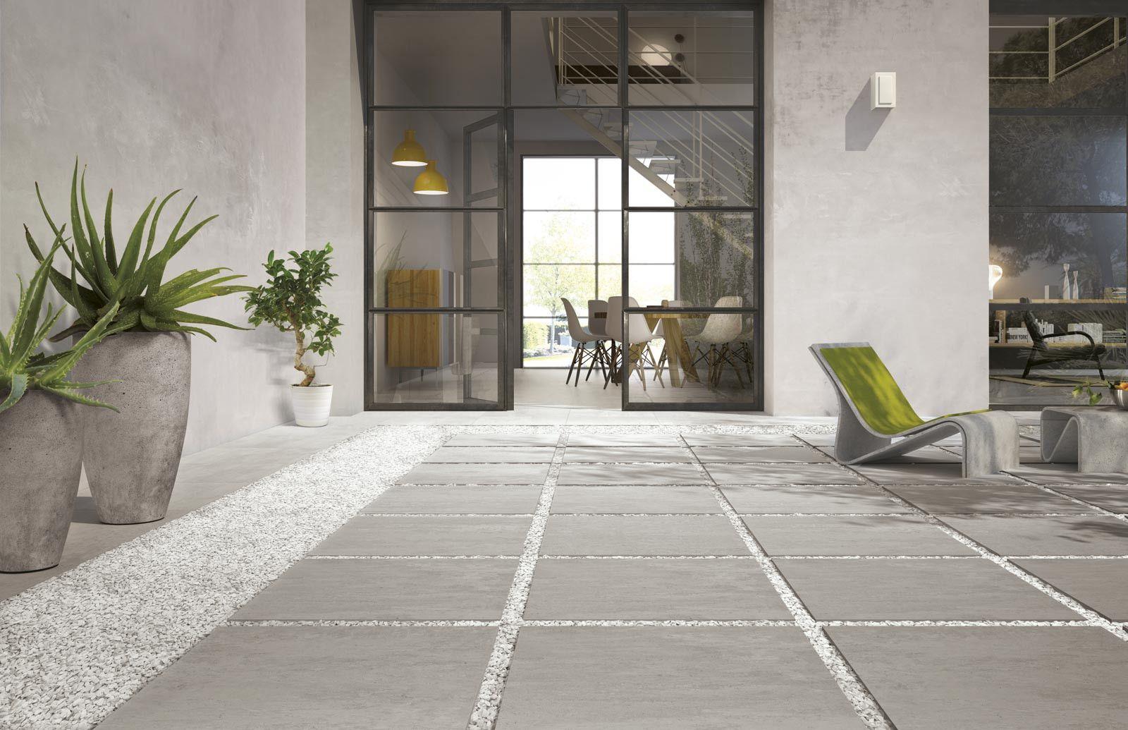 Pavimento Esterno Grigio : Ragno concept xt grigio cm r m gres cemento