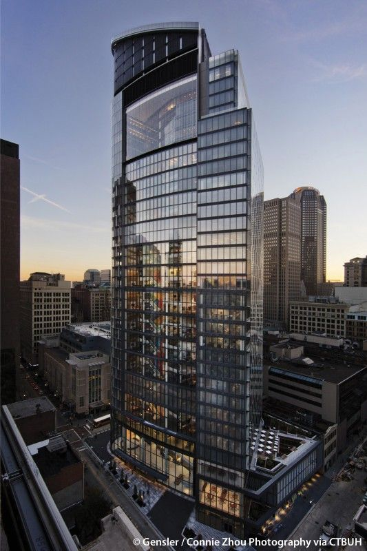 The Tower At Pnc Plaza Pittsburgh Pennsylvania 172 M Completion 2015 Gensler Building