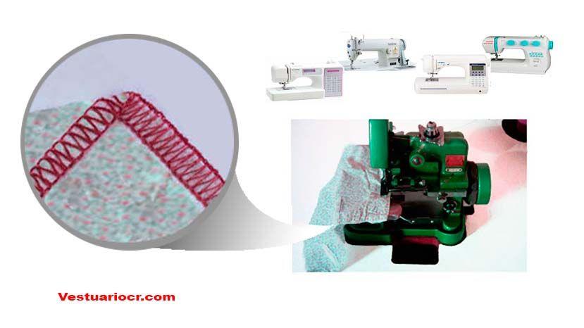 Maquina de coser Overlock   Industriales y caseras   Atolón ...