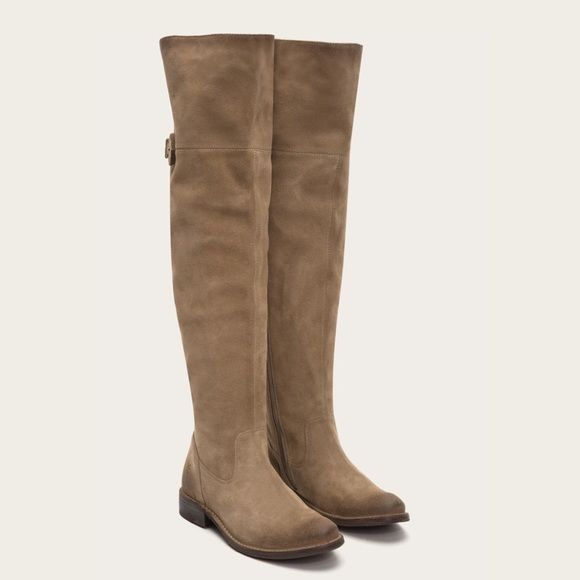 76eac5f794d Frye Shirley OTK Suede Nubuck Over the Knee Boots Frye Shirley OTK Suede  Nubuck Over the