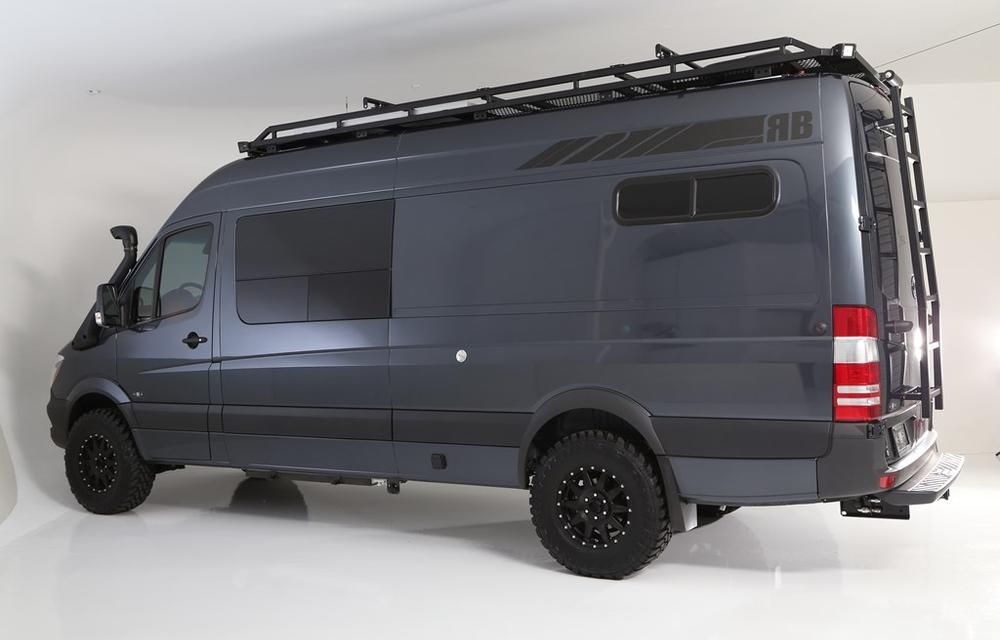 Rb Touring Van Sawtooth 04 170 Touring Mercedes Van 4x4