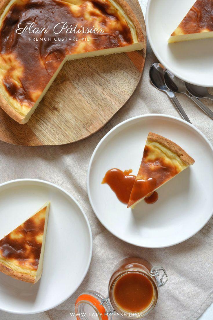 Flan pâtissier Französischer Puddingkuchen #flanpatissier