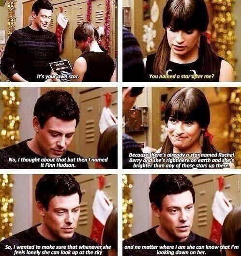 In Life Hudson Real Hookup Rachel Berry And Finn
