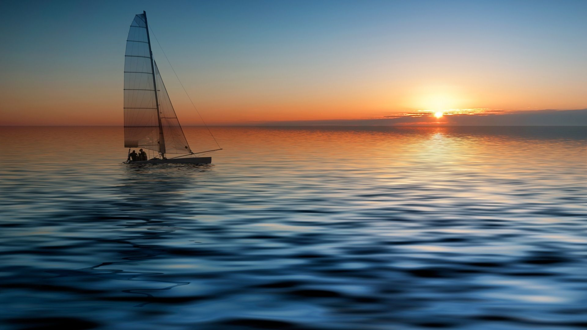 Pictures Of Sailboats On The Ocean Boat Wallpaper Sunset