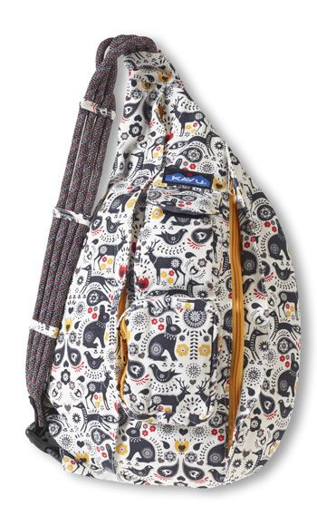 4da5557369 KAVU Rope Bag-Folklore-100% Cotton Canvas. The KAVU Rope Bag is by far the  most popular bag in our line. People ages 5-95 love the design and  practicality ...