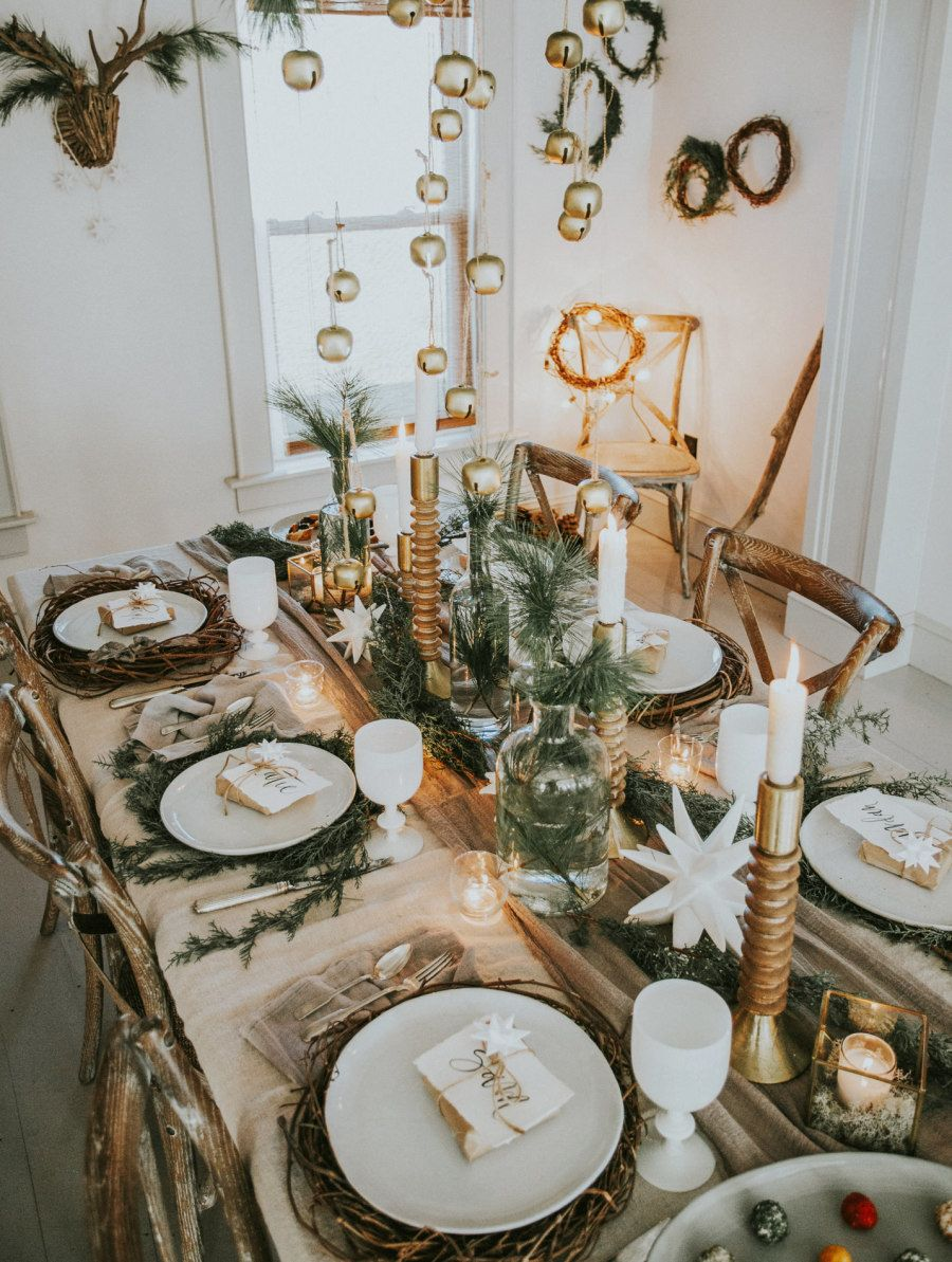 If you crush on Scandinavian Interiors, then this Holiday Party is ...