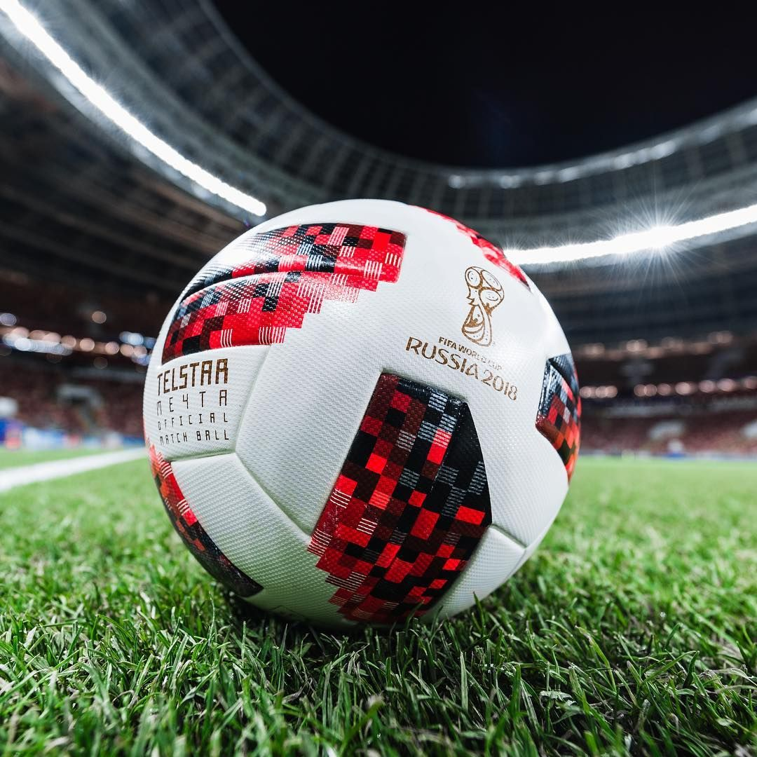 Telstar18 Mechta The Official Matchball For The Knockout Stage Adidasfootball Worldcup Soccer Ball Soccer Football Ball