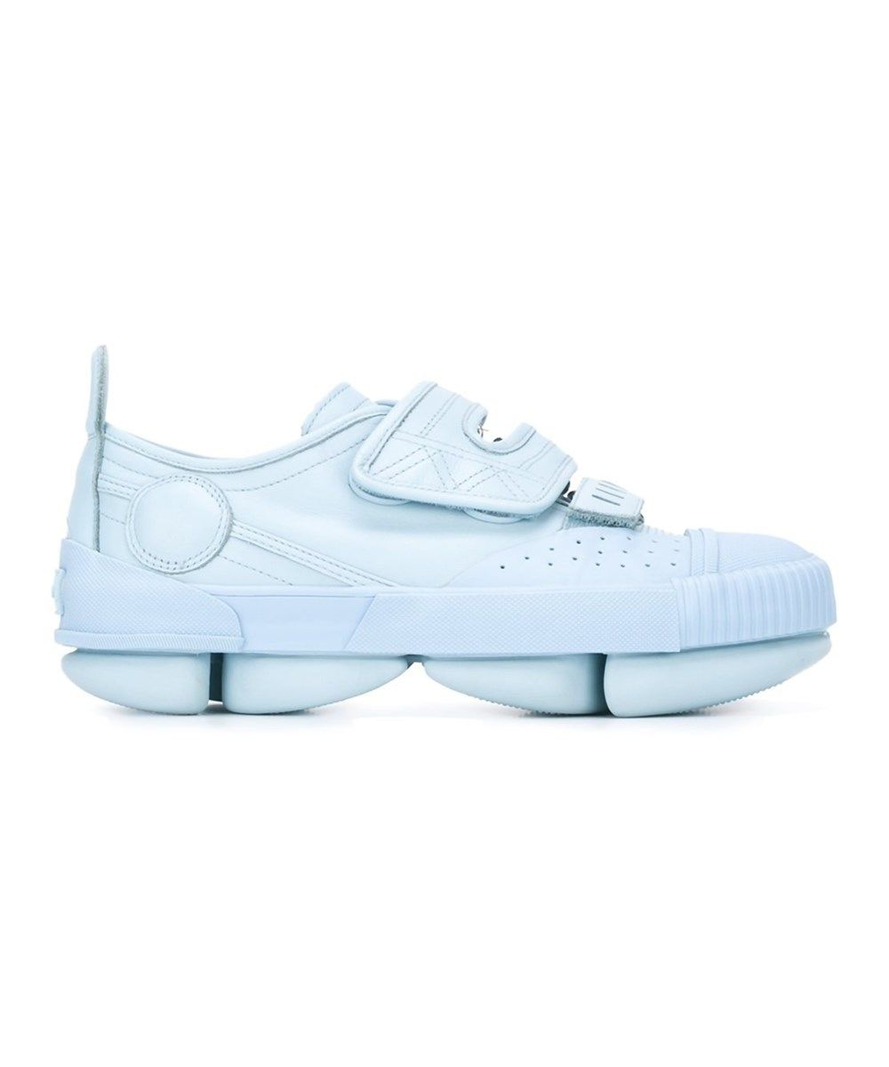 Kenzo Men's Blue Leather Sneakers clearance best place clearance sast cheap discount sale 81I93wsW