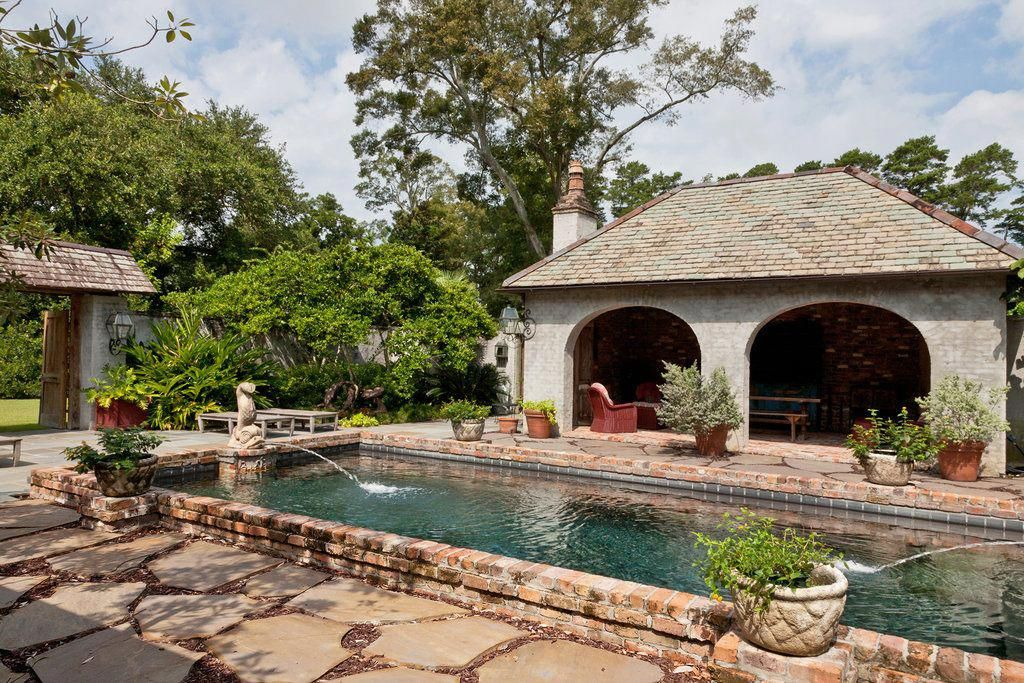 Paradise Outdoor Kitchens For Entertaining Guests Pool Houses House Exterior Outdoor