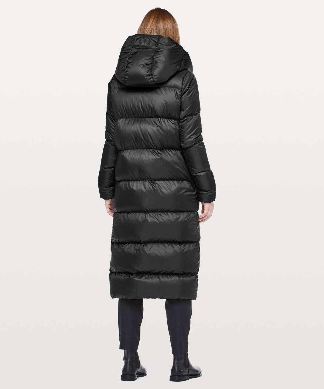 Lululemon Cloudscape Wrap Black Lulu Fanatics Waterproof Winter Coat Puffer Jacket Women Winter Coat Parka [ 1280 x 1067 Pixel ]