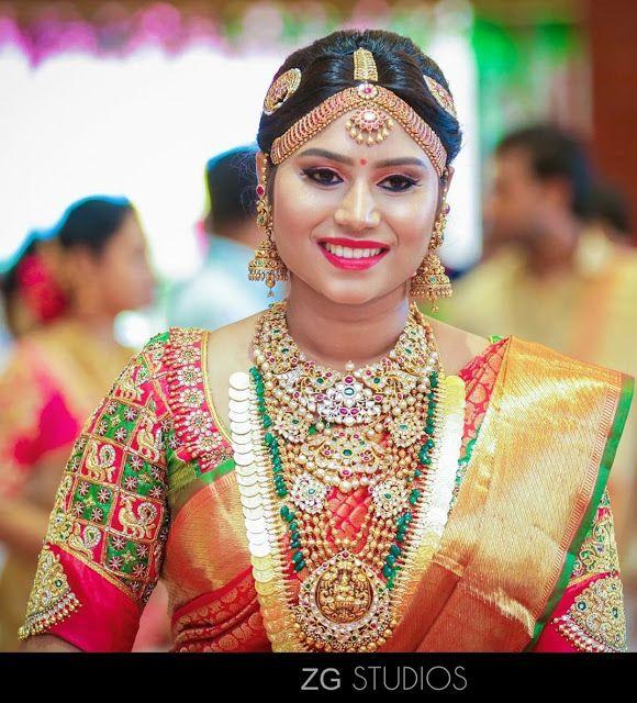 South Indian Bride In Kundan Wedding Jewellery Jewellery