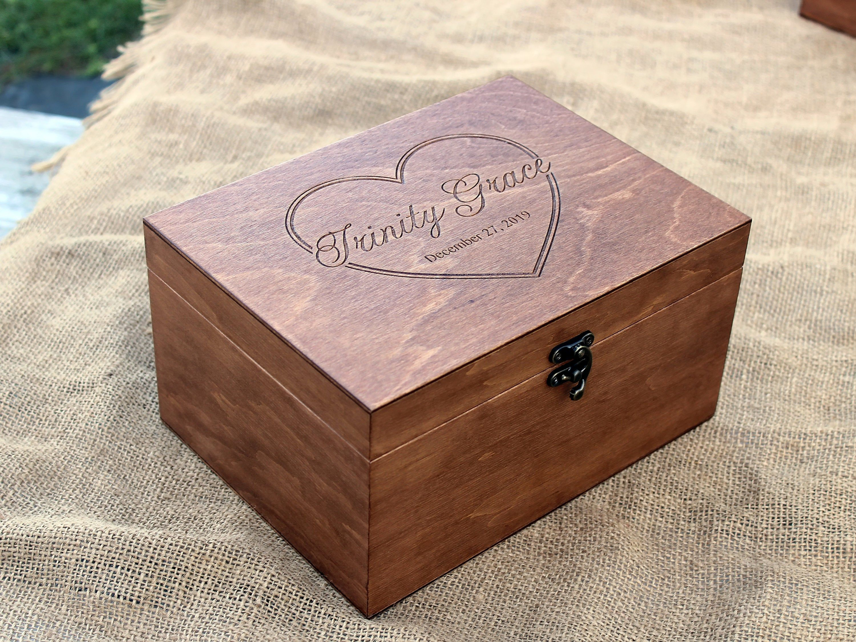 34+ Engraved jewelry box for baby ideas