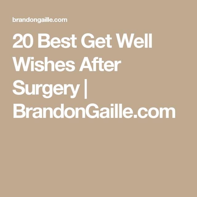 20 best get well wishes after surgery cards tutorials pinterest