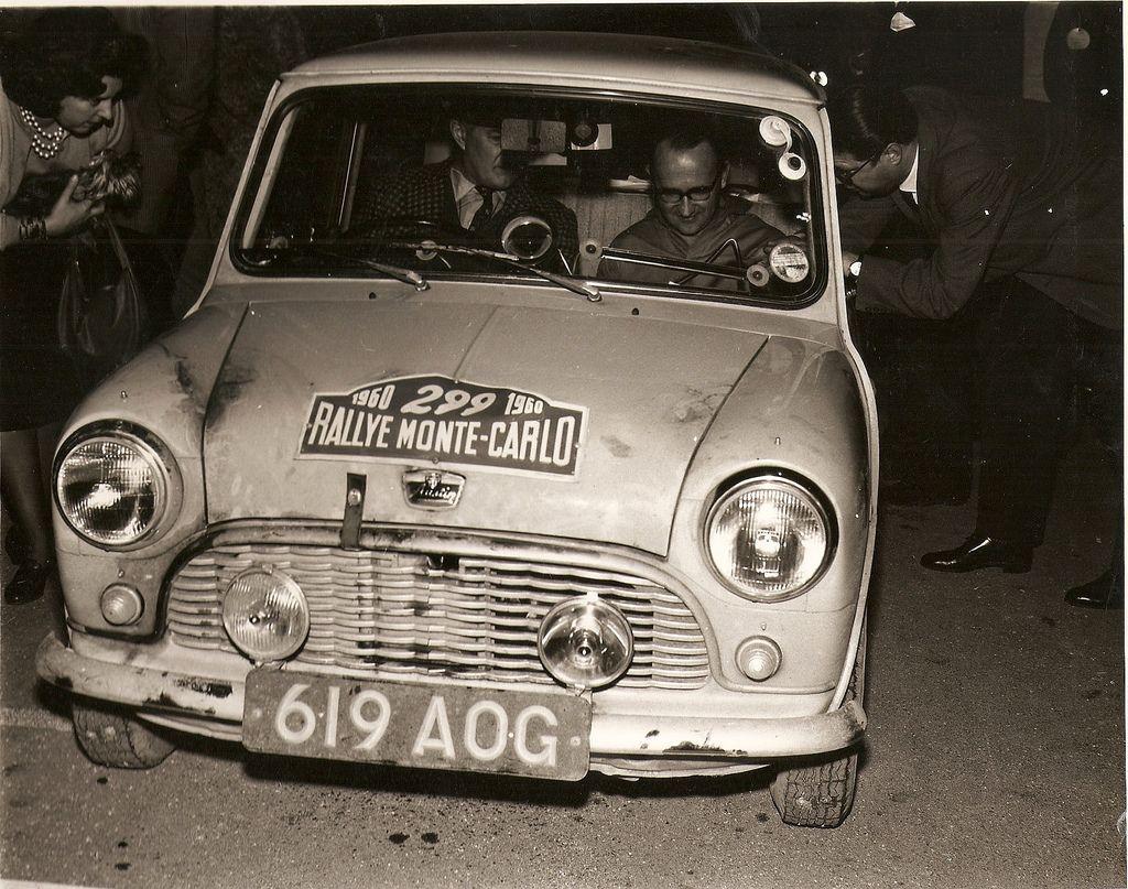 Austin Mini Se7en 1960 Monte Carlo Rally 03 Mini Monte Carlo