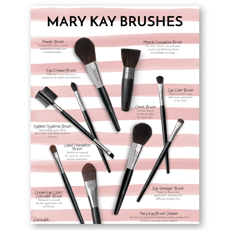 MK Brushes DI01.png (With images) Mary kay cosmetics