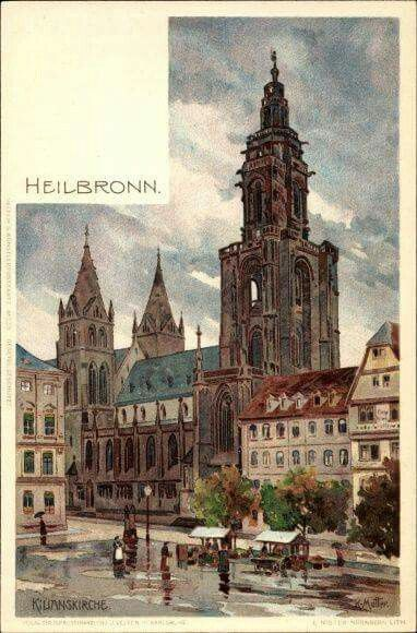 KILIANSKIRCHE , HEILBRONN Heilbronn, Württemberg und