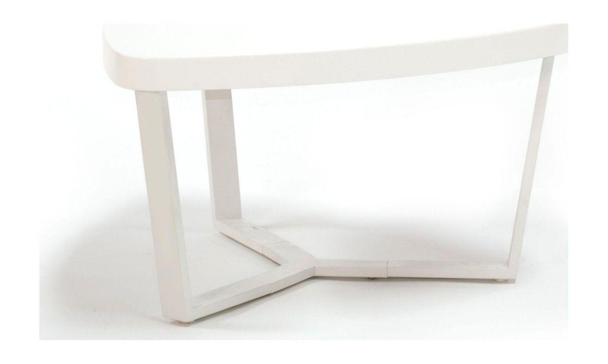 Salon Tafel Wit : Zodeco zc salontafel wit small solid sense
