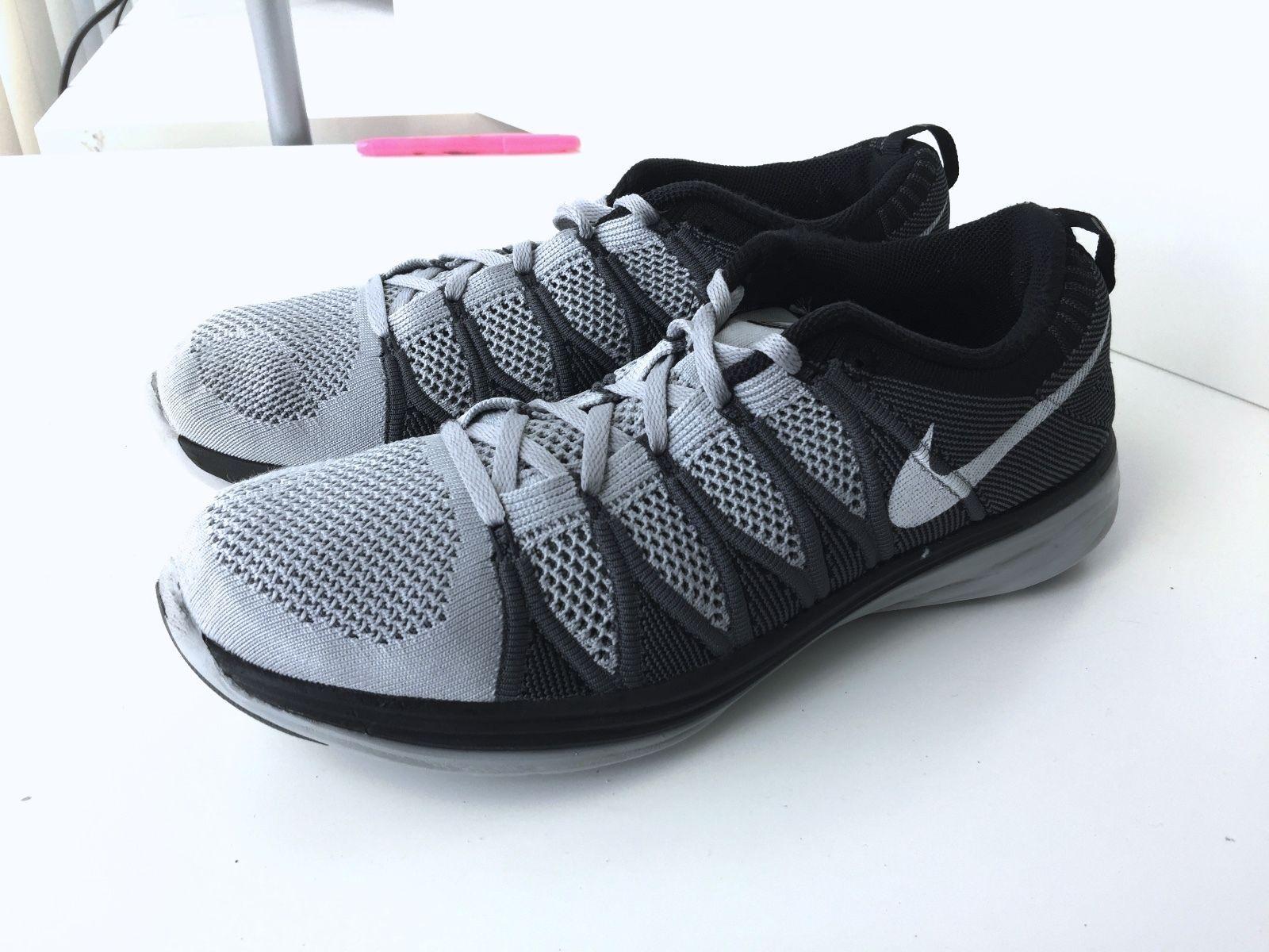 Men's Nike Flyknit Lunar 2 Running Shoes Sz 10.5 M