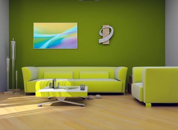 Groen? Voor als je niet weet hoe een groene kamer mooi zou kunnen zijn, erg mooi voorbeeld