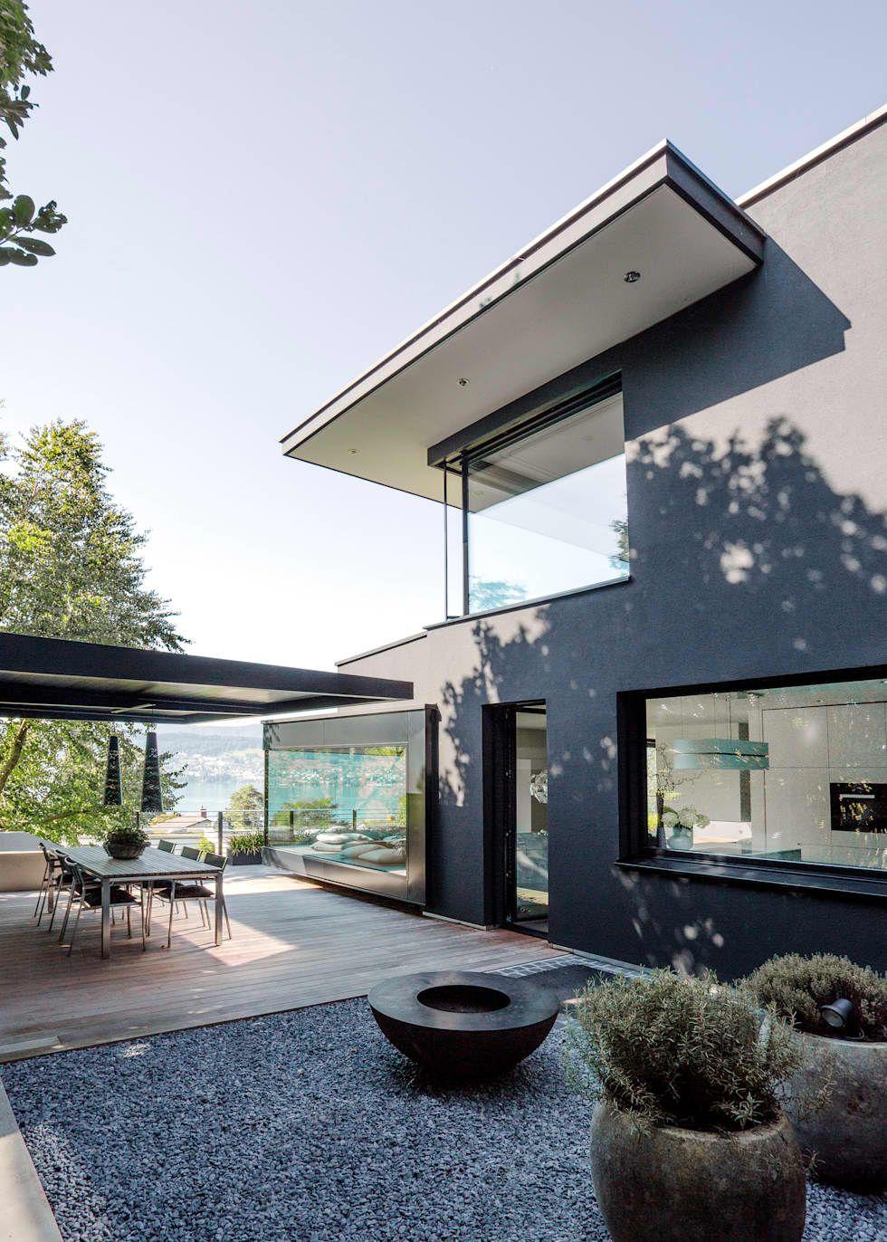Objekt 336 meier architekten terrasse von meier for Modernes haus zurich
