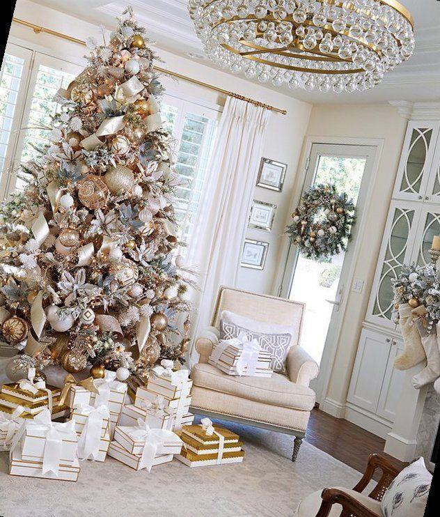 46+ Pretty Christmas Living Room Ideas to Get You