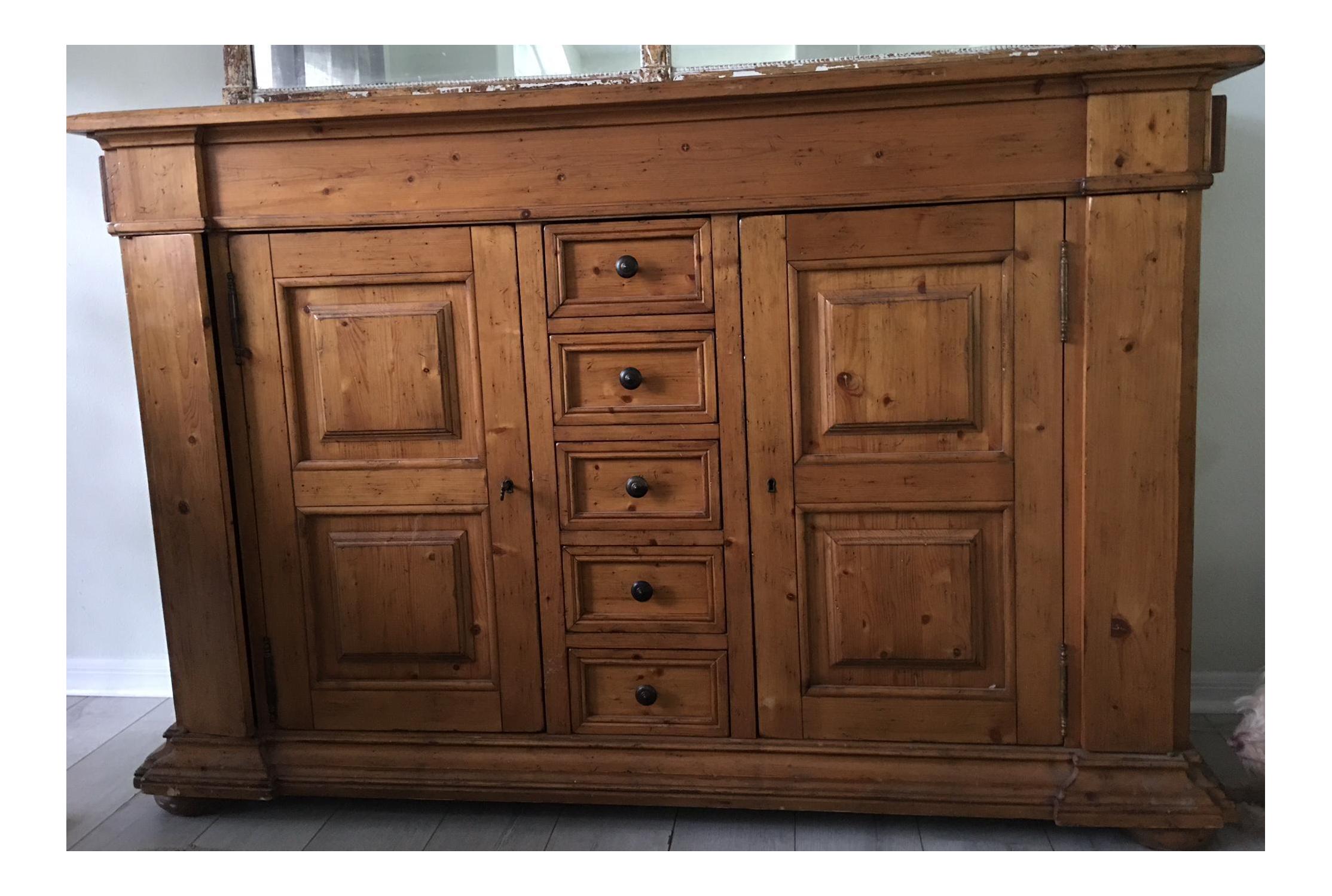 Ferguson Copeland Wood Sideboard | Sideboard, Kitchen ...