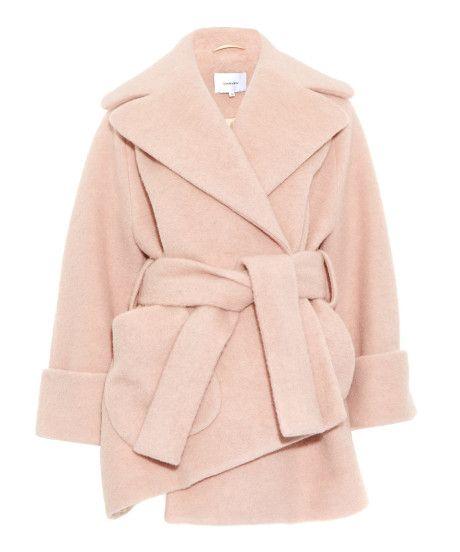 6c468d3db950 Women's Pink Oversize Asymmetric Wool-blend Coat | Fashion Week 2015 ...