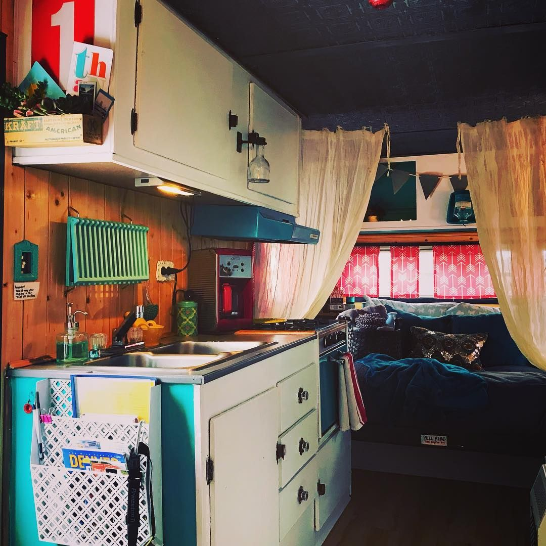 Our vintage Airbnb glam camper still has dates available