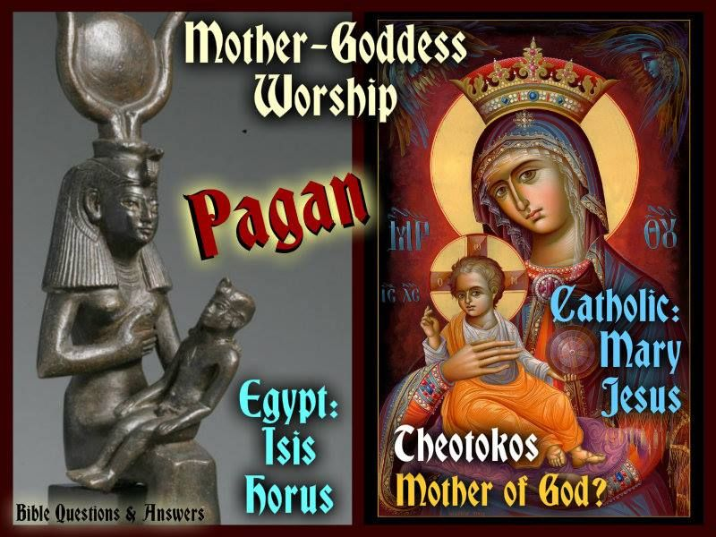 Image result for mary as the mother goddess