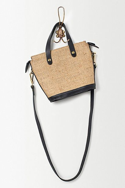 Lost Property of London Mini Elwin Bag, Hessian - anthropologie.eu - ANTHROPOLOGIE on InStores